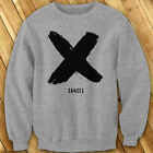 X Canceled Fashion Bold Retro Asap Hipster army Mens Gray Sweatshirt