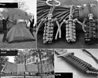 Functional 550 Paracord Parachute Cord Lanyard Mil Spec Type III 7 Strand Core