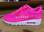 Nike Air Max 90 LTR GS Hyper Pink Pow White Girls Youth Running 724852-600