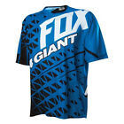 Fox GIANT DEMO short sleeve Blue Cycling Jersey Medium