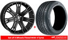 Alloy Wheels & Tyres 22'' Hawke Saker II For Land Rover Discovery [Mk4] 09-16