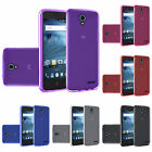 For ZTE Avid Trio ZTE Cheers Slim Flexible Bendable Transparent TPU Cover Case