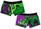 Boys Avengers Incredible Hulk Trunk Boxer Short Briefs Underpants 4 to 10 Years