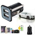 3.1A Dual 2 Ports Auto USB Car Charger Adapter 12V/24V Mini Adaptor UNIVERSAL