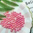 Wholesale Fashion 4 mm / 6 mm / 8 mm /10 mm Pearl Round Spacer Loose Beads