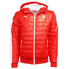 Puma AFC Arsenal T7 Mens Hooded Full Zip Red Padded Jacket 746372 01 P4