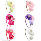 Girls Flower Hair Hoops Best Hair Accessories for Kids Costume Party