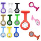 Brooch Style Silicone Nurses Brooch Fob Chic Vogue Watch Medical Nurse Watch