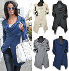 New women  solid button loose casual spring autumn sweater long sleeve Cardigan