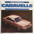 1988 Plymouth Caravelle and SE 8-page Original Car Sales Brochure Catalog $7.17 USD on eBay