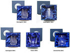 LUXURY WHISKY TUMBLERS GIFT BOXED New Hand Cut 24% Lead Crystal Glass SAVE 35%
