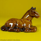 Wade Whimsies (1974/81) Horse & Foal Sets (1974 Set #1) - Foal Sitting - Light