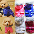 Pet Dog puppy Clothes Winter Warm Jacket Fleece Coat Costume Apparel Clothing