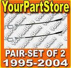 95-04 TOYOTA TACOMA PU PICKUP TRUCK TAILGATE STRAP Straps SUPPORT CABLES Set 2