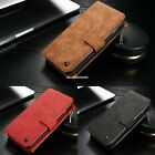 Leather Case Cover Zipper Wallet Card Multifunction For iPhone 6/6S Plus EN24H