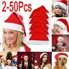 Lot of 50 Adult  Kids hat Xmas Red Cotten Cap Santa Novelty hat Christmas Party