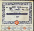 CINEMA Ets  Cinematographiques PALLADIUM Paris France dd 1921  -  Film Movie