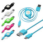Retractable Micro USB 2.0 Fast Data Charge Cable Charging Cord For Mobile Phone