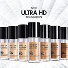 Make Up For Ever Ultra HD Invisible Cover Liquid Foundation 1oz YOU CHOOSE