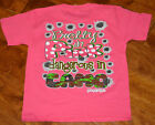 Girl's Girlie Girl Pretty In Pink Dangerous Camo Short Sleeve Pink T-Shirt Small