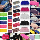 Women Lady PU Leather Clutch Coin Phone Bag Long Purse Wallet Card Holder Lot ZX