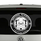 Imperial Academy Coruscant Star Wars Inspired Vinyl Decal Sticker Tie Fighter $6.95 USD on eBay