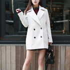 New Women Winter Coats Outwear Jackets & Tops Double Breasted Long Slim Warm Hot