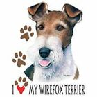 Wirefox Terrier Love T Shirt Pick Your Size 7 X Large to 14X Large