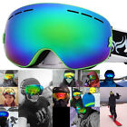 Winter Sports Antifog Snowmobile Glasses Frameless Skiing Snowboard Goggles