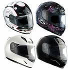 New HJC Motorcycle Bike Womens Childrens Full Face Riding Helmet Size XS-2XL
