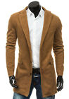 BOLF Herren Mantel Jacke Men Classic Wintermantel Übergangs Mix 4D4 Casual