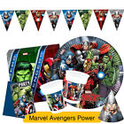 Marvel AVENGERS POWER Birthday Party Range (Tableware & Decorations) 2016 Procos
