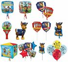 PAW PATROL Birthday Balloons - Range of Foils Latex Orbz & Cubez