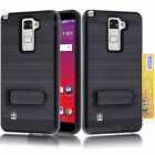 For LG G Stylo 2 Plus Case Hybrid Shockproof Armor Cover + Screen Film Protector