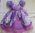 GIRLS SIZE 3 SOFIA THE FIRST COSTUME DRESS DISNEY STORE NWT