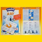 Swirl A 07 MicroPor AirSpace Staubsaugerbeutel A07 frei Haus per DHL-Paket