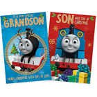 Thomas the Tank Engine Christmas Card Grandson Son