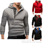 New Men's Slim Hooded Sweatshirt Zipper Coat Jacket Outwear Sweater Hoodies hot