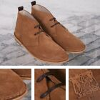 Delicious Junction 60's Resin Sole Lace Up Suede Desert Boot Tan