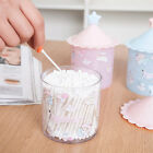 Lovely Cotton Bud Stick Swab Makeup Storage Box Holder Cosmetic Bath Decor