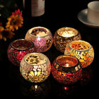 Handmade Spring Mosaic Candle Holder Tealight Holders Wedding Candlestick