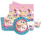 LITTLEST PET SHOP Party Pack {Tablecover/Cups/Plates/Napkins} (Birthday/Kids)