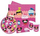 Minnie Mouse D-LISH Party Pack {Tablecover/Cups/Plates/Napkins} (Birthday)