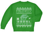 Ugly Christmas sweater gift for men reindeer humping office party tacky gag xmas
