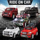 Kids Electric Ride on Car Jeep Toys Licensed Mercedes-Benz AMG G65 & 4 Matic