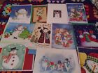 20 SNOWMAN Christmas Greeting Card Assortment with Adorable Designs