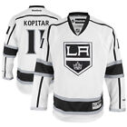 Reebok Anze Kopitar Los Angeles Kings White Away Premier Jersey - NHL