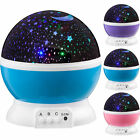4 LED Starry Night Sky Rotating Projector Lamp Star light Cosmo Master XMAS Gift