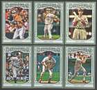 2013 Topps Gypsy Queen (1-350 w/ SP) Baseball Team Sets ** Pick Your Team Set **