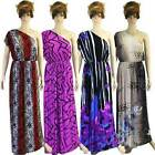 NWT S/M/L 8 10 12 NEW Evening Party One Shoulder Siam Trendy Maxi Long Sun Dress